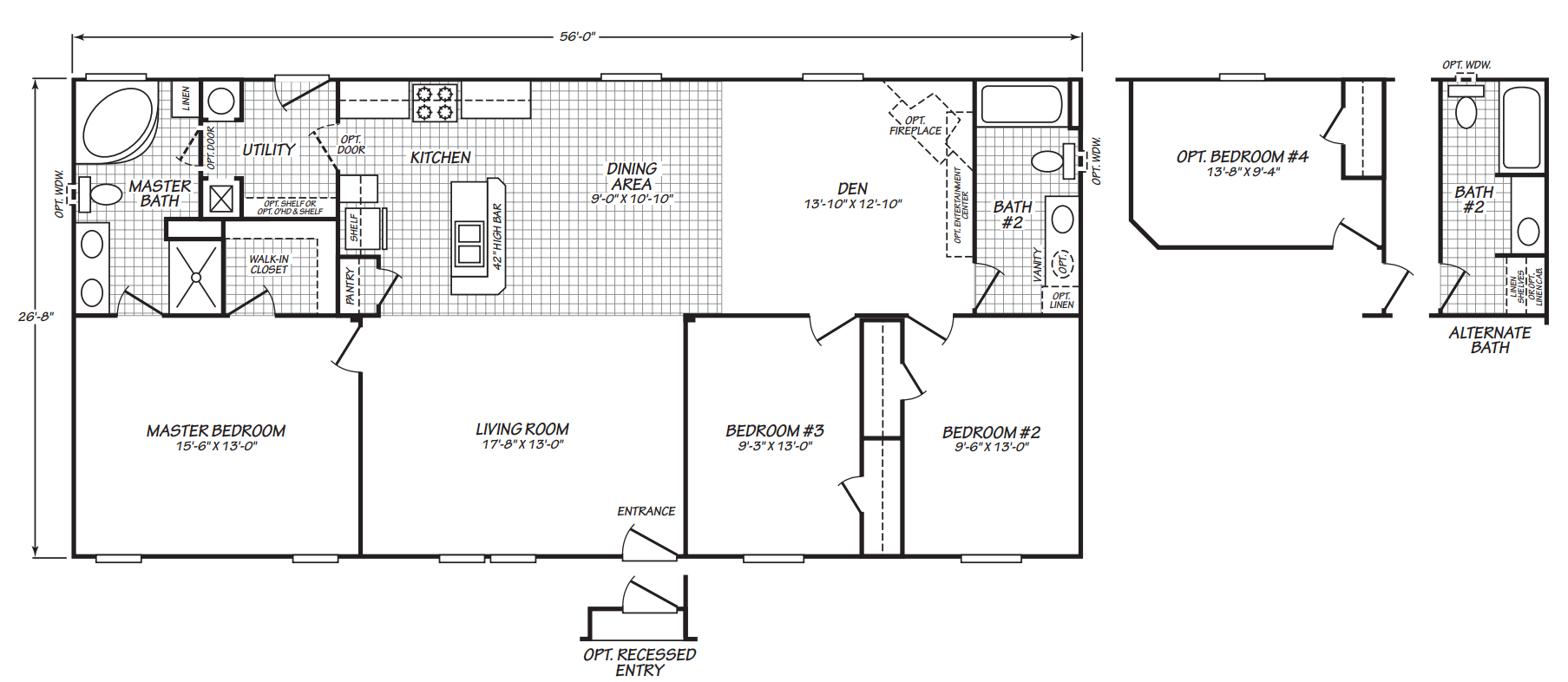 Floor Plan Layout: Dakota / 16562C