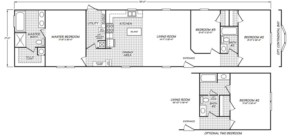 Floor Plan Layout: Dakota / 18763Z