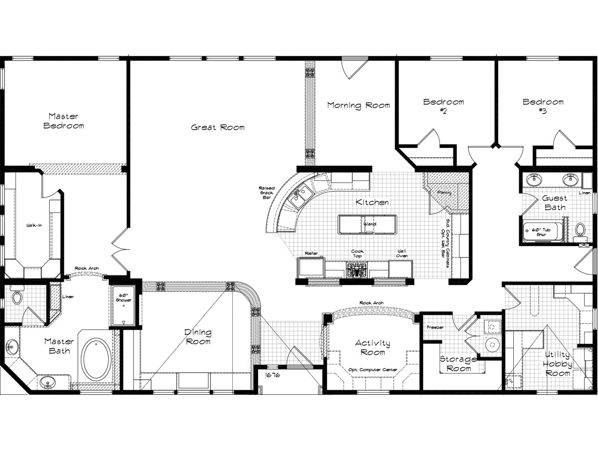 Floor Plan Layout: Marquis Manor / 4505