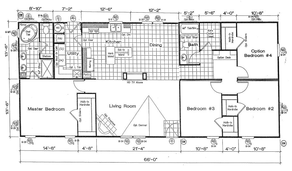 Los Angeles California Homes Floor Plan Layouts