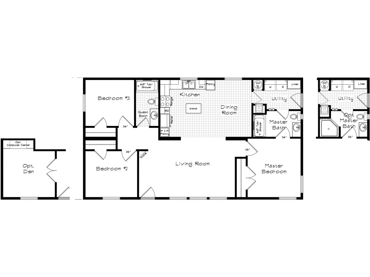 Floor Plan Layout: Pinehurst / 2502