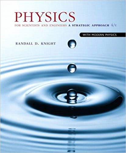Book Cover for Physics for Scientists and Engineers: A Strategic Approach with Modern Physics