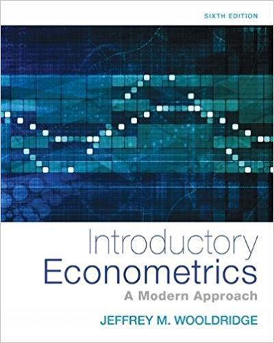 Book Cover for Introductory Econometrics: A Modern Approach