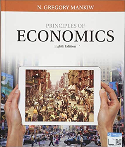 Book Cover for Principles of Economics
