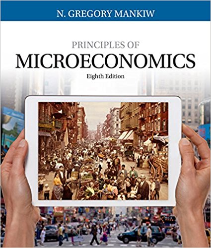 Book Cover for Principles of Microeconomics