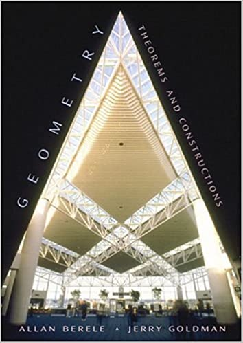 Book Cover for Geometry Theorem and Construction