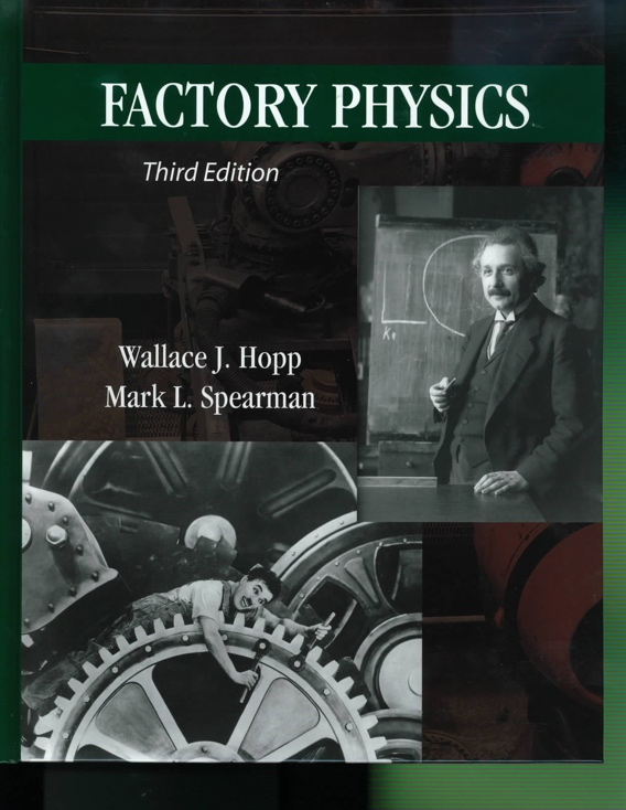 Book Cover for Factory Physics 3rd
