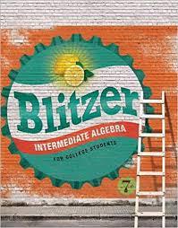Book Cover for Intermediate Algebr…