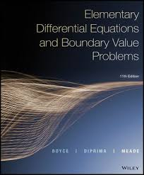Book Cover for Elementary Differential Equations and Boundary Value Problem