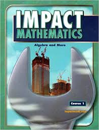 Book Cover for Impact Mathematics …
