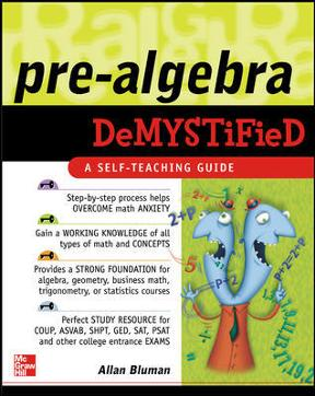 Book Cover for Prealgebra Demystif…