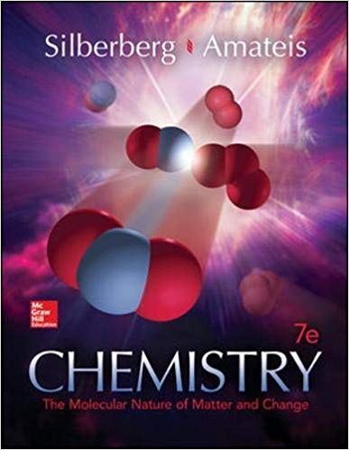 Book Cover for CHEMISTRY: The Molecular Nature of Matter and Change 2016