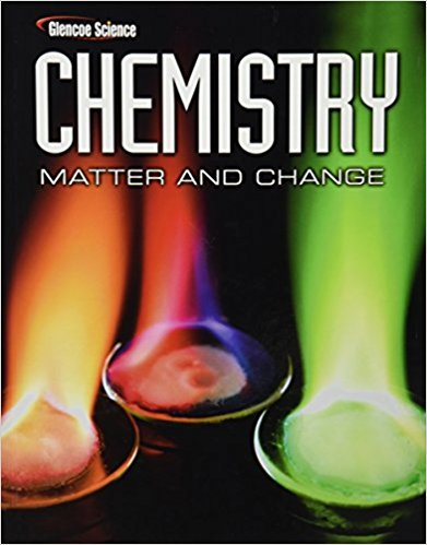 Book Cover for Glencoe Chemistry: Matter and Change