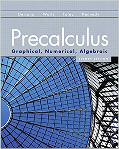 Book Cover for Precalculus: Graphi…