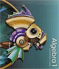 Book Cover for Algebra 1 Common Core