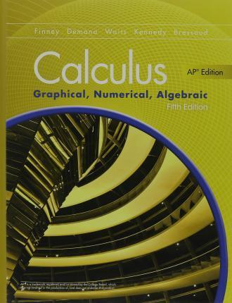Book Cover for Calculus; Graphical…