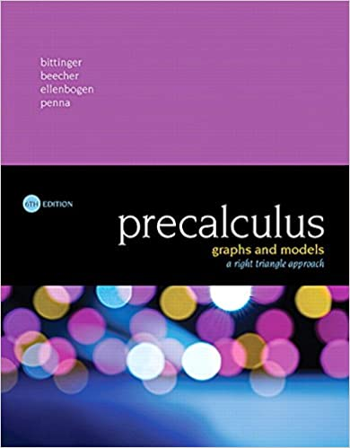 Book Cover for Precalculus Graphs …
