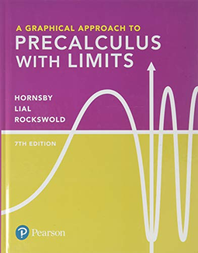 Book Cover for A Graphical Approach to Precalculus with Limits