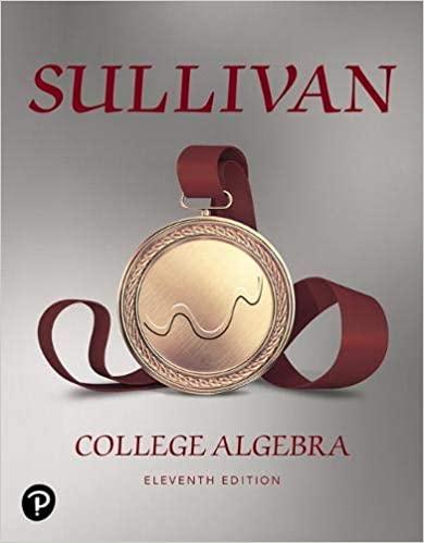 Book Cover for College Algebra 11th