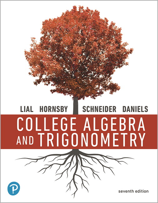 Book Cover for College Algebra and…