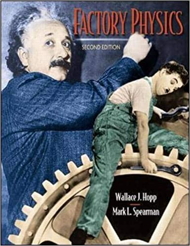 Book Cover for Factory Physics 2nd