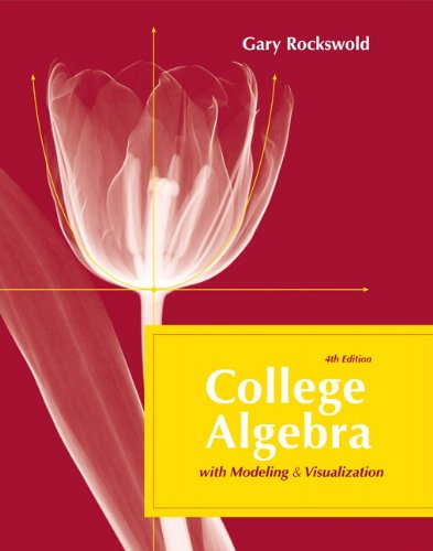 Book Cover for College Algebra wit…
