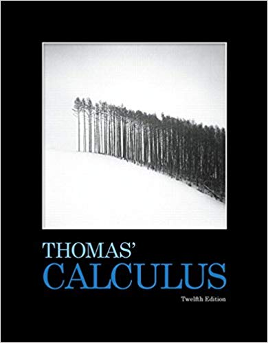 Book Cover for Thomas Calculus 12