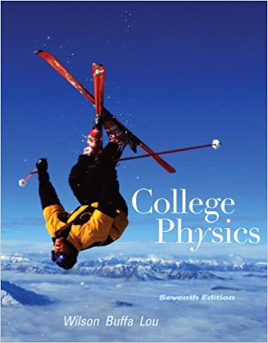 Book Cover for College Physics 7th