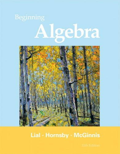 Book Cover for Beginning Algebra