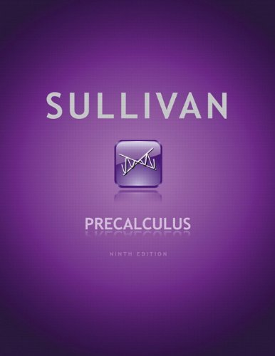 Book Cover for Precalculus 9th