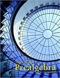 Book Cover for Prealgebra