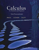 Book Cover for Calculus for Scient…