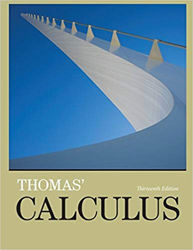 Book Cover for Thomas Calculus