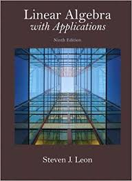 Book Cover for Linear Algebra with Application