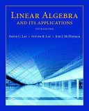 Book Cover for Linear Algebra and Its Applications