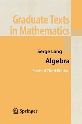 Book Cover for Algebra 3rd