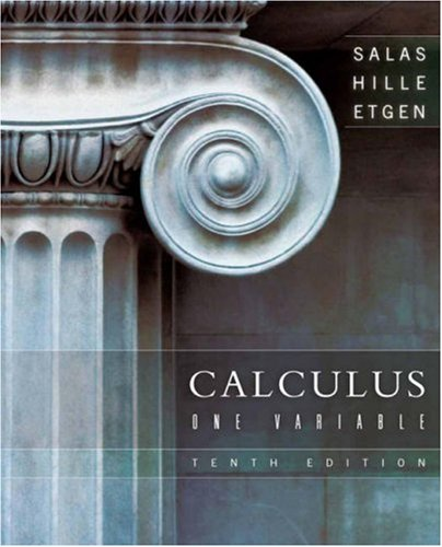 Book Cover for Calculus: One Varia…