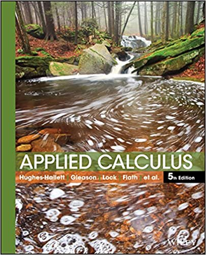 Book Cover for Applied Calculus