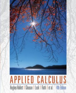 Book Cover for Applied Calculus 4th