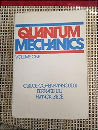 Book Cover for Quantum Mechanics 1…