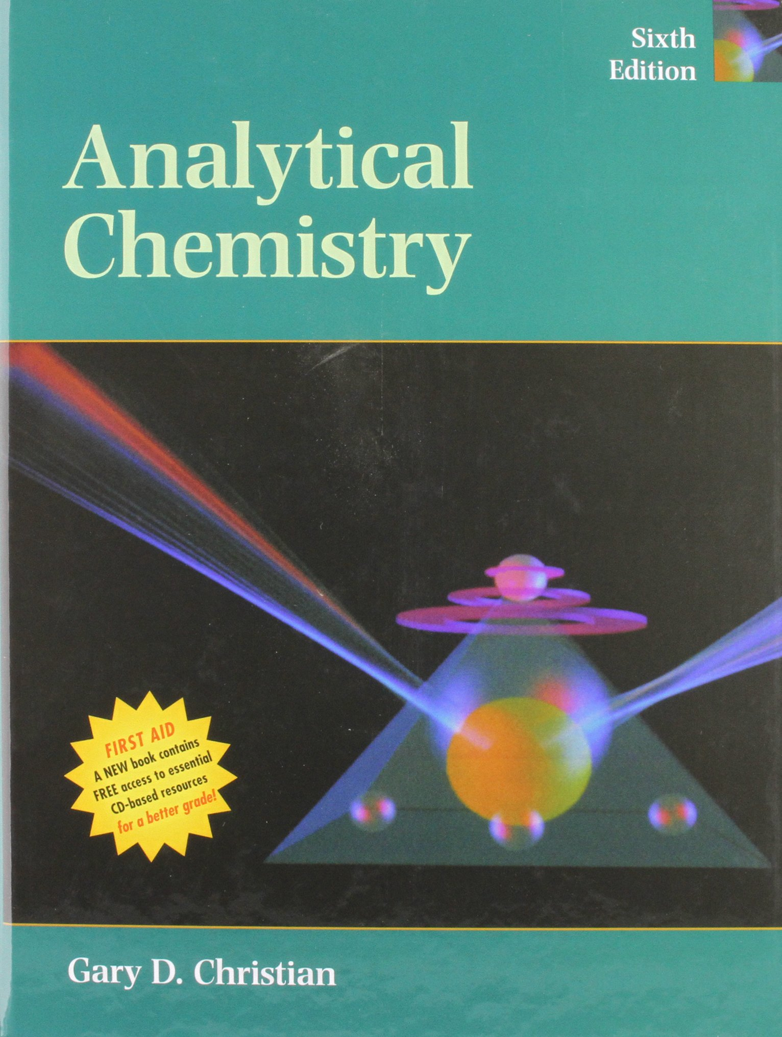 Book Cover for Analytical Chemistr…