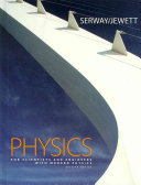 Book Cover for Physics for Scientists and Engineers with Modern Physics