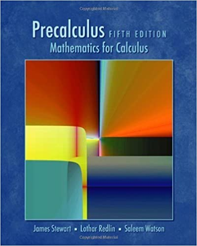 Book Cover for Precalculus Mathematical for Calculus 5th