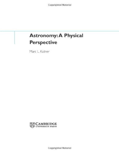 Book Cover for Astronomy: A Physic…