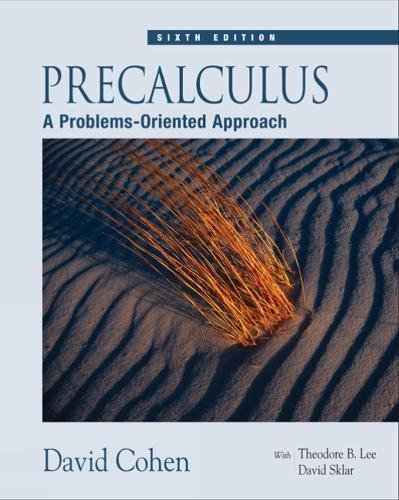 Book Cover for Precalculus : A Pro…