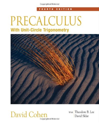 Book Cover for Precalculus With Un…