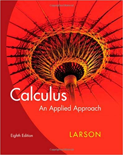 Book Cover for Calculus an Applied Approach 8th