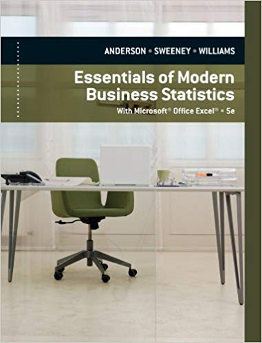 Book Cover for Essentials of Modern Business Statistics