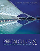 Book Cover for Precalculus Mathematics for Calculus 6th