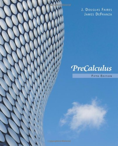 Book Cover for Precalculus  5th